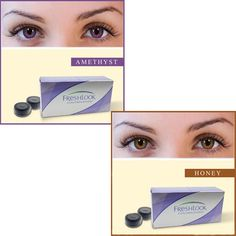 Freshlook Color Contact COUPON contact Lens - Honey