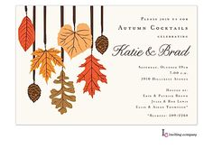 73 best fall party invitations images in 2018 autumn birthday