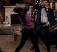 "Breakup dance break. Season 8, ""The Method in the Madness."" 