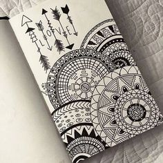 Imagem de drawing, art, and mandala
