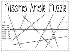 Pin on Angle Puzzles