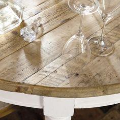 Tavolo da pranzo allungabile a rotelle 6 a 14 persone L 125/325 cm | Maisons du Monde