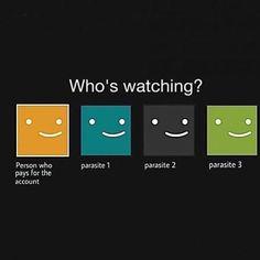 Me when I borrow my friend's Netflix account.