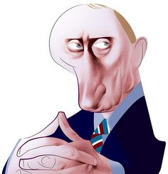 Vladimir Putin by Andre Carrilho