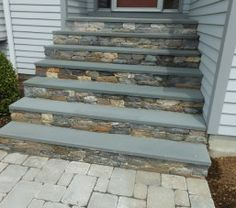 Slate Tile Front Porch And Steps Future House