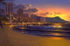 Waikiki Paradise ~ Al Hogue