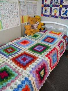 Wooleater blanket by rielovegrove on Ravelry