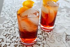 """The classic Negroni cocktail might be my favorite drink. I know this is a bold statement, but the combination of four simple ingredients is seriously the perfect sip. A friend once said, """"That's a guy's drink right?"""" Au contraire, mon frere. This cocktail is sexy and smooth and perfectly suited for either gender in need of a delicious happy hour."""