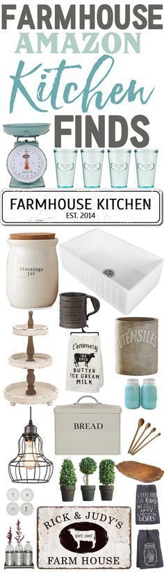 Farmhouse Kitchen Finds From Amazon-Affordable Farmhouse Kitchen Decor-www.themountainviewcottage.net.jpg