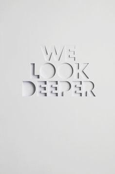 Look Deeper - Bianca Chang