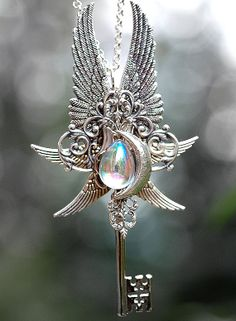 Epic Moon Drops Key  036 by KeypersCove on Etsy, $59.00