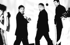 RDJ, Sting and Hugh Jackman @Sara Black... otra