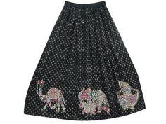 Womens Bohemian Skirts Black Animal Tribal Print Sequin Skirt Bellydance Dcrapechic Skirts 36 Mogul Interior, http://www.amazon.com/dp/B009QUXNCC/ref=cm_sw_r_pi_dp_Nd3Fqb14YTAJM