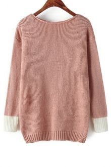Blush Hem Sweater