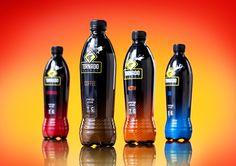 Direct Design : visual branding - Portfolio / Tornado Energy: energetic drink with a sense of humor Juice Packaging, Beverage Packaging, Bottle Packaging, Label Design, Packaging Design, Product Packaging, Graphic Design, Branding Portfolio, Bad Room Ideas