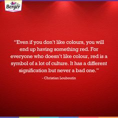 Do you like the colour  red  Tell us about your association with the colour 1a226f04da53
