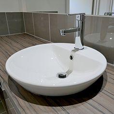 The Caroma Orbis Inset Basin u0026 Caroma Saracom Basin Mixer - Fairmont Homes SA The Grand & Stylish bathrooms with semi-inset vanity basins mixer taps and ... pezcame.com