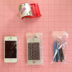Fix your cracked phone screen