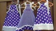 TCU: Baby Girl's Dress. Season begins in T-Minus 2 months.