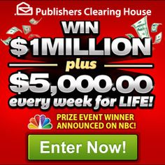 Ready to win? 11 Sweepstakes, $100, $25k,$1 mill, iPad, and more