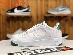 big sale 70e3c eda41 2019 Buy Nike Air Force 1 Low 919521-100 Women Shoes White Green