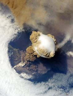 Sarychev volcano, Kuril islands