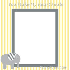 Baby Premade Page 12x12 Yellow Gray & White by PattiChicBoutique, $1.50