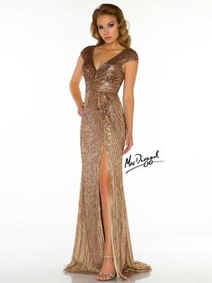 Mac Duggal 85202D, available in raeLynns.com Price is only $698!!! #womensfashion #empirewaist
