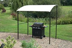 bbq gazebo outdoor canopy shade barbecue smoker awning. Black Bedroom Furniture Sets. Home Design Ideas