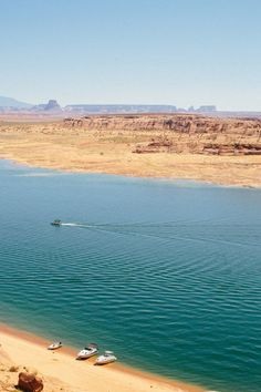 Lake Powell - End of Summer Road Trip via A House in the Hills Places To Travel, Places To See, Hill Interiors, Lake Powell, End Of Summer, Far Away, Amazing Nature, Beautiful Places, Around The Worlds