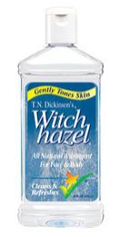 Try adding some distilled witch hazel to calamine lotion as an effective pain relief and itch soother for mosquito bites.