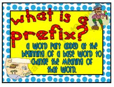 31 Mini Prefix and Suffix Posters - Pirate Theme