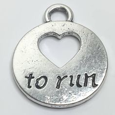 Running Fitness Charms Running Shoe Runner Fitness Jewelry Girl Running, Running Shoes, Running Jewelry, Meaningful Jewelry, Born To Run, Running Workouts, Dainty Necklace, Marathon, Jewelry Gifts