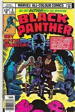 Black Panther #8 Bronze Age Marvel Comics Jack Kirby VF