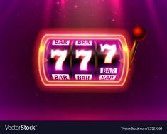 Neon slot machine wins jackpot bar vector image on VectorStock Slot Online, Steampunk Machines, Doubledown Casino, Lottery Winner, Play Slots, Tv Show Games, Game Icon, Best Online Casino, Games