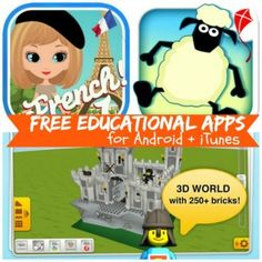 Free Educational Apps for Android and iTunes: Math Study Buddy, Learn French Words, + More!