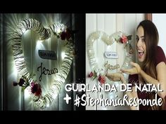 DIY guirlanda de natal + #StephaniaResponde - ESPECIAL 200K ♥♥♥ - Paula Stephania - YouTube