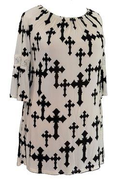 3 4 length lace dress 3x