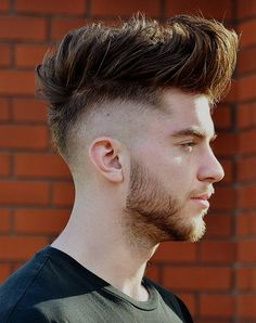 Mohawk fade haircut is a trendy hipster haircut that's very popular specially among black men in It is also known as a Mohican hairstyle. In mohawk Undercut Fade Hairstyle, Mohawk Hairstyles Men, Popular Mens Hairstyles, Haircuts For Men, Hairstyle Men, Hairstyles 2018, Hairstyle Ideas, 2017 Hairstyle, Best Fade Haircuts