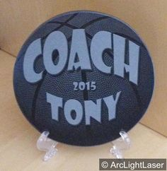 Do you want something different for your basketball coach this year? A black marble plaque makes a beautiful, yet unique Coach's gift. There is an option to add the players names around the edge of the circle (see the soccer and basketball sample) plus, a 2-sided option for additional information. The PERFECT gift to remember a special team! https://www.etsy.com/listing/267821792/basketball-coach-gift-team-gift-engraved?ref=shop_home_active_5