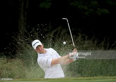 Daniel Berger of the USA plays a shot during a practice round for THE PLAYERS Championship at the TPC Sawgrass Stadium course on May 5, 2015 in Ponte Vedra Beach, Florida.