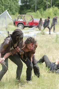 "Michonne & Rick ""Too Far Gone"""