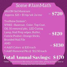 Jamberry's new Gel system -TrūShine  #madeintheUSA #freeoftoxins #gelnails #nailcare #jamberry #nailsBcute #nails