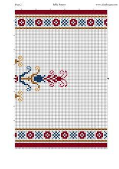 Gallery.ru / Фото #2 - @@,,,,,@@ - kento Cross Stitch Rose, Center Table, Table Runners, Alphabet, Kids Rugs, Crafts, Fabrics, Cross Stitch, Geometric Drawing