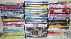 70 Kids / Childrens DVDs Lots Of Disney, Dreamworks, Scooby And More