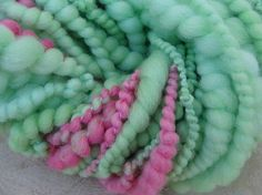 Unicorn Mane Handspun Art Yarn