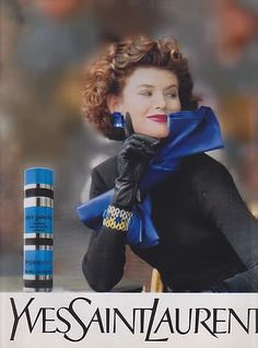Rive Gauche by YSL. I loved this perfume...my mom's signature until they dsicontinued.  U remember smelling this as a kid and still would know it anywhere lol.