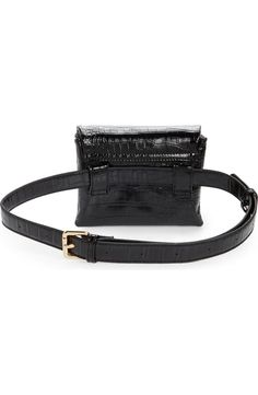 Mali + Lili Aria Convertible Vegan Leather Belt Bag   Nordstrom Tumi Backpack, Leather Belt Bag, Vegan Leather, Crocs, Convertible, Nordstrom, Lily, Backpacks, Bags