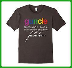 Mens Guncle - Gay Uncle Vintage T-Shirt Funny Gay Apparel 3XL Asphalt - Relatives and family shirts (*Amazon Partner-Link)