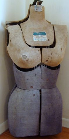 Vintage Hearthside dress form...I have this one...